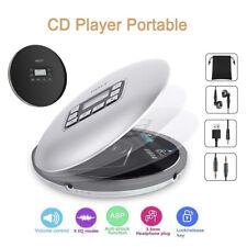 Portable Bluetooth CD Player Stereo Anti-Skip LCD MP3 Walkman Player + Earphone
