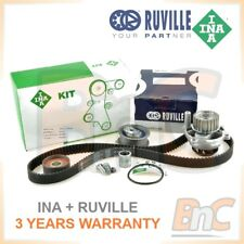 GENUINE INA RUVILLE HD TIMING BELT KIT & WATER PUMP SET AUDI A3 A4 B6 2.0FSI
