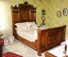 19th Century Victorian Antique Bedroom Set   Gorgeous