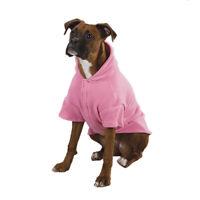 NEW Pink Basic Fleece Hoodie Hooded Sweatshirt Size XS Dog Clothes