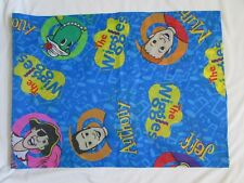 "The Wiggles TV Show Valance Curtains Disney Dinosaur 58"" x 21.5"" MINT"