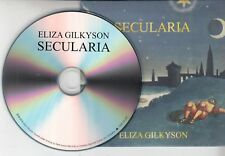 ELIZA GILKYSON Secularia 2018 UK 12-track promo CD + press release