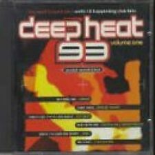 Deep Heat 93 vol.1 sammy, Apache Indian, sybil, robin s., snap, 2 unl [CD album]