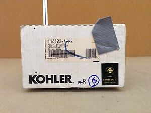 KOHLER K-T16122-4-PB Revival Deck-Mount Bath Faucet Trim, POLISHED BRASS