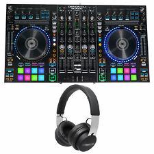 DENON MCX8000 Digital Serato DJ Controller USB Player+Audio Technica Headphones