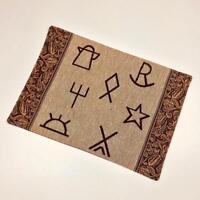 Durango Western Texas Texan Cattle Branding Symbols Single Tapestry Placemat