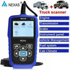 NexLink NL102 OBD/EOBD CAN Code Reader Heavy Duty Truck Diagnostic Scanner