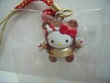 SANRIO Hello Kitty Key chain Gunma bunbuku chagamaTea-kettle  design  from Japan