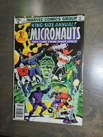 The Micronauts King Size annual #1 (1979) Marvel Comics VF