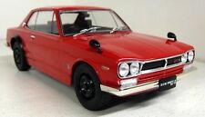 Triple9 1/18 Scale - Nissan Skyline GT-R KPGC10 Red Diecast model car