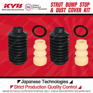2x Rear Bump Stop + Dust Cover for Ford Laser KA KB KC KE Meteor GA GB GC