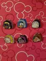 DLR Magical Mystery Series 12 *Character Backpacks* 6 Set Pins