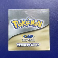 Pokemon Silver Trainer's Guide Instruction Booklet Manual Nintendo Gameboy GB