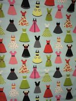 Dresses by Samantha Walker Riley Blake Fabric FQ + More 100% Cotton Craft Girls