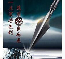 WUSHU lance Spearhead Sword Chinese KungFu Spear Spearhead Manganese Steel TaiCh