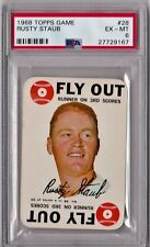 1968 Topps Game Rusty Staub #28 PSA 6 P288