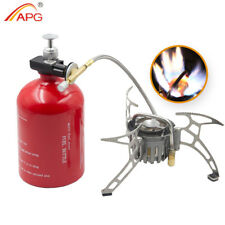APG Portable Camping Stove Oil/Gas Multi-Use Gasoline Burner 1000ml Cooker