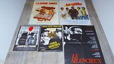 lino ventura lot collection  6 affiches cinema