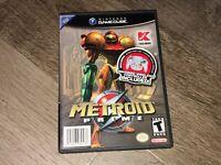 Metroid Prime Nintendo Gamecube Wii Complete CIB Authentic