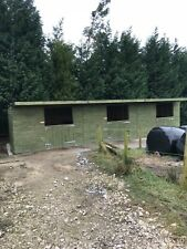 Wooden Stable block 36ft X12ft (12x12 )