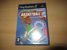 PS2 Junior Sports Basket-ball, Royaume-Uni PAL, Brand New & Sony FACTORY SEALED