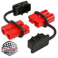 Wakauto 2-4 Gauge 175 A Battery Quick Connect//Disconnect Wire Harness Plug Connector Recovery Winch Trailer