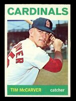 1964 Topps Baseball #429 Tim McCarver St. Louis Cardinals - SBID004