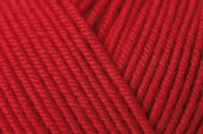 RICO ESSENTIALS MERINO DK knitting wool shade 05 red