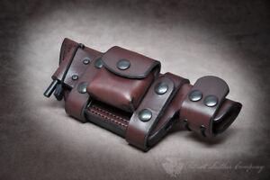 Tom Brown Tracker 'The Massacre' Custom Leather Bushcraft Sheath