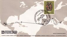 lad68  Mexico 1968 XIX Olympic Games, 12 FDC olympic torch route, see scans