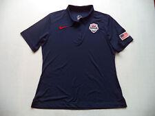 Womens NIKE polo shirt Sz XL top active fitness USA Basketball team school shirt