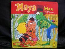 VINYL 45 T – BO TV BD – MAYA – ET MAX LE VER DE TERRE – TF1 PETIT MENESTREL