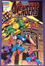 THE OFFICIAL MARVEL INDEX TO THE AVENGERS 2 Nov 1994 8.0-8.5 VF/VF+ SIGNED!!!