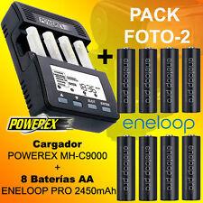 PHOTO-2 - Chargeur POWEREX MH-C9000 + 8 x Batteries Eneloop PRO 2500mAh