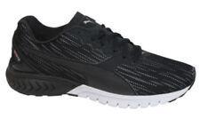 Zapatillas deportivas de mujer planos de piel color principal negro