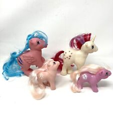 Vintage G1 My Little Pony 1980s Lot Of 4 Hong Kong