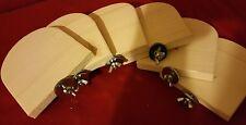 6 Sitzbretter(Stufen) für Chinchilla,Degu,Ratte,Mäuse,Vögel usw.15x15 cm NEU !!