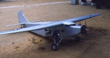 """1/12 Escala Ford Tri-motor 78"""" WS rasguño construir R/c Plane Plans & patrones"""