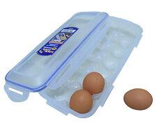 Lock & Lock 12 Egg Container storage Stackable Egg dispenser Keeps Fresh Safe