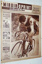 MIROIR SPRINT N°525 02/07 1956 CYCLISME GAUTHIER CHAMPION FRANCE ANQUETIL RECORD