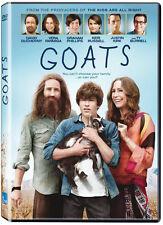 Goats  (DVD)  Vera Farmiga, David Duchovny, Graham Phillips NEW