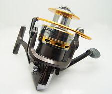 Pescar Caña Aparejos 8BB Spinning Fishing Reel5.1:1  Aluminum SpoolST7000A grey