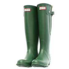 Wellie Hunter Rain Boot Original Classic Tall Green 11 12 44 EU Wellington Mud