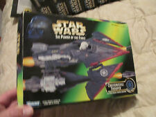 """1996 Star Wars  """"The Power of the Force""""  CRUISEMISSILE TROOPER   w/Launchers"""