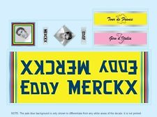 Eddy Merckx Bicycle Decals-Transfers-Stickers #10