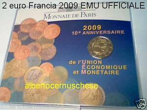 coin card 2 euro 2009 FRANCIA france EMU UEM Frankreich Франция Frankrijk