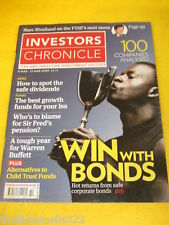 INVESTORS CHRONICLE - WIN WITH BONDS - MARCH 6 2009