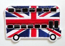 THE ROUTEMASTER LONDON BUS ICONS SYMBOL Embroidered Iron on Patch Free Shipping