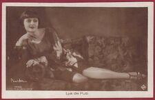 LYA DE PUTTI 06 ATTRICE ACTRESS CINEMA MUTO SILENT MOVIE STAR Cartolina FOTOGR.