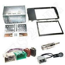 Volvo v70 s60 autoradio doble DIN marco radio diafragma ISO KFZ cable de conexión set